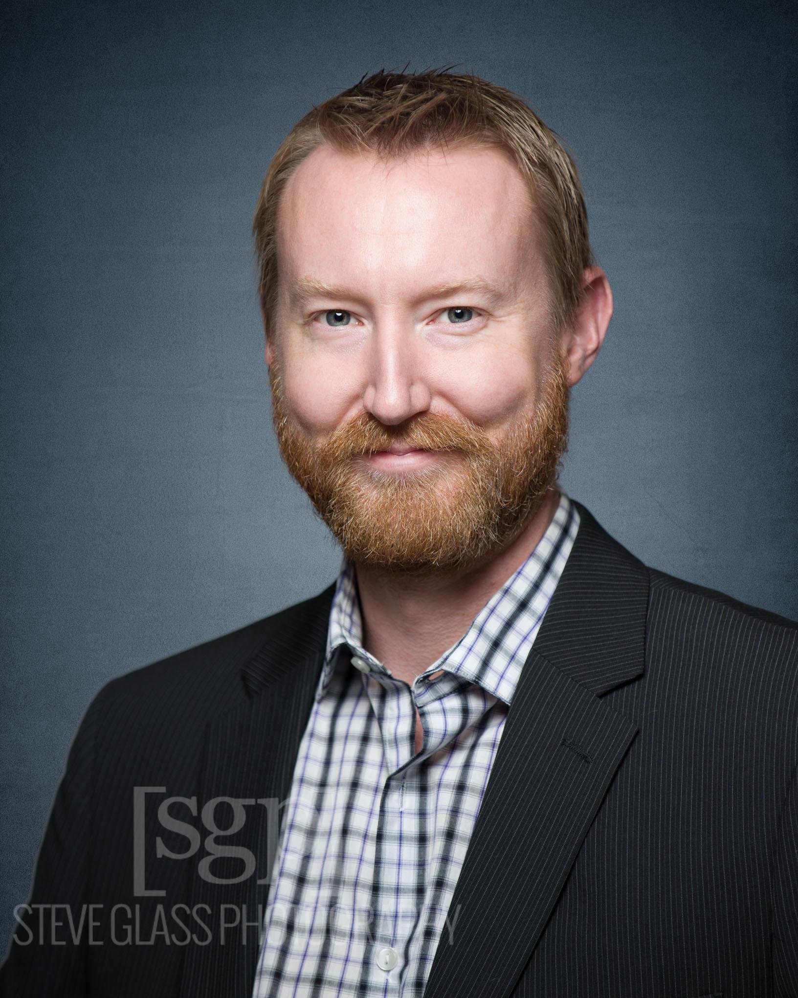 Professional Headshot Ed Baxter