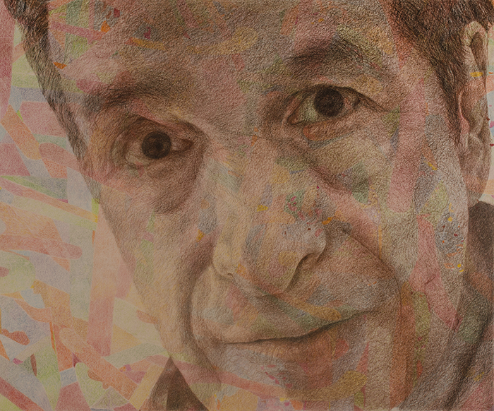 "GARY GOLKIN ""GARY SELF-PORTRAIT"" 2015 ©"