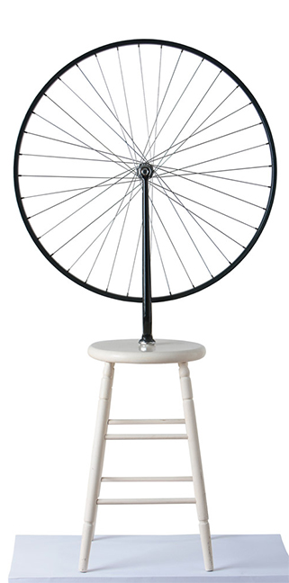 "MARCEL DUCHAMP ""BICYCLE WHEEL 1951"