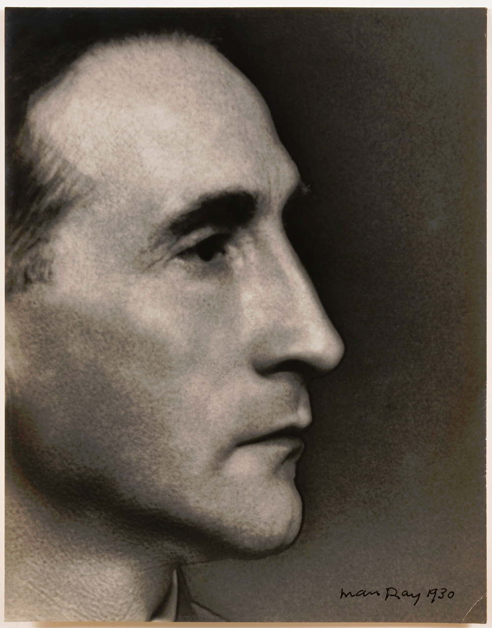 PHOTO: MAN RAY 1930  PORTRAIT: MARCHEL DUCHAMP