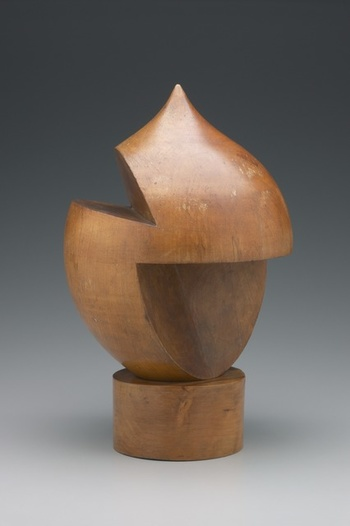 "SOPHIE TAUBER ARP ""TURNED WOOD SCULPTURE( EN BOIS TOURNE )YALE UNIVERSITY"