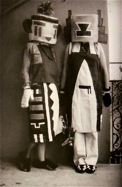 Sophie and Erika Taeuber (Hopi Indian Costumes)