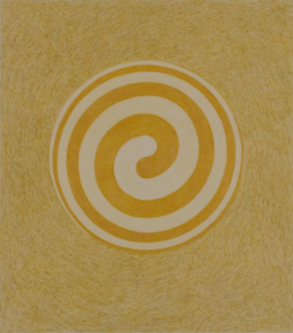SPIRAL HB9SAI 1983-84 © COLOR PENCIL ON PAPER
