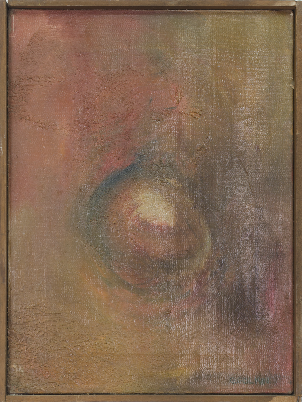 """FIRST 1959 12"""" X 16"""" OIL ON CANVAS"""