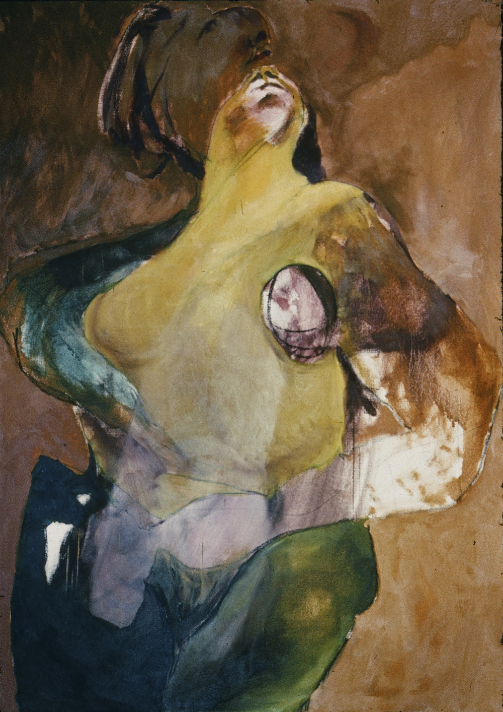"""SHE& HE 1969 36"""" X 48"""" OIL ON CANVAS"""