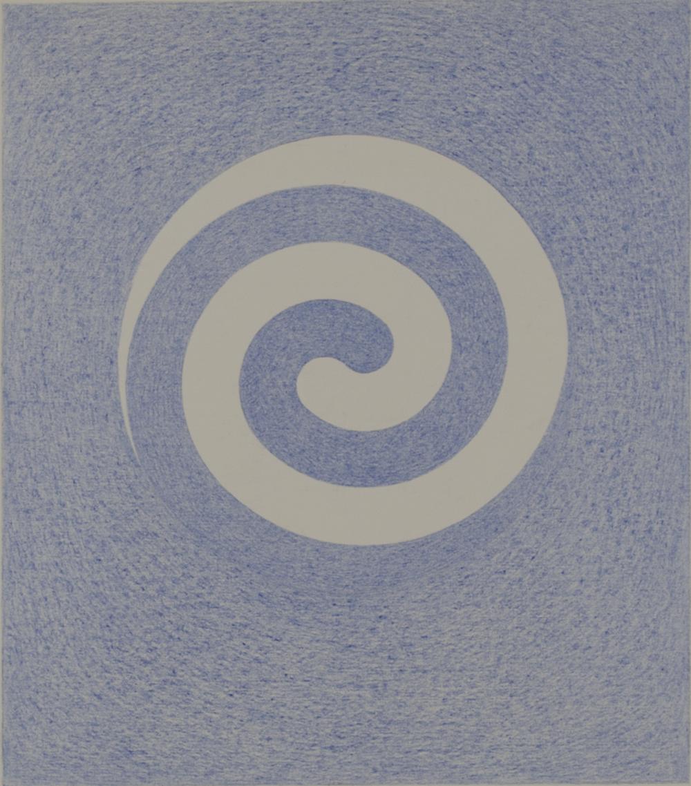 SPIRAL HB3T 1983-844 © COLOR PENCILS ON PAPER