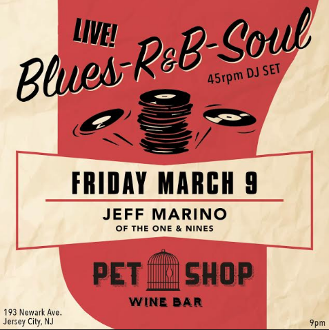 - Mid century, soul, and blues 45sPS Wine Bar 9-2am