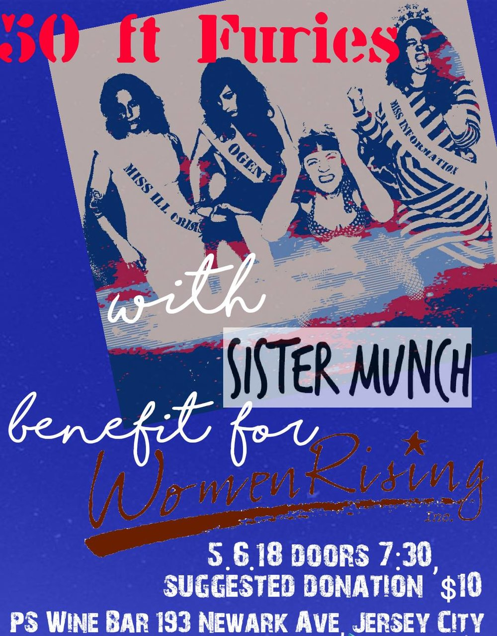 - Concert//Fundraiser for Women RisingPS Wine Bar