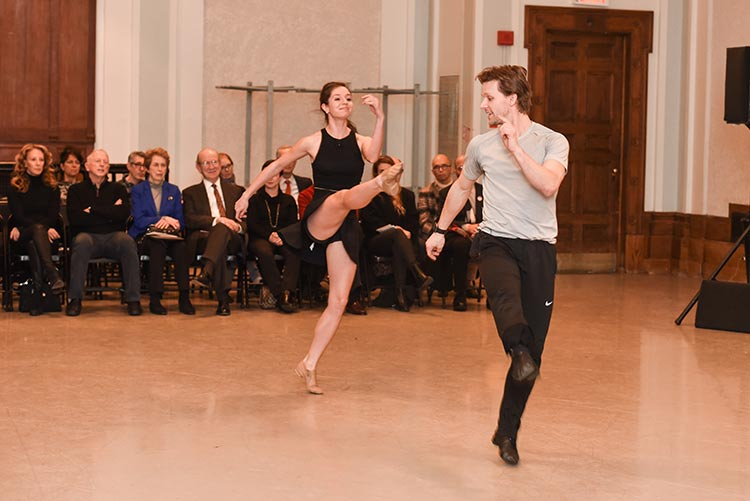 Daniel Ulbricht and Broadway dancer Danielle Diniz (credit: Presley Ann for Patrick McMullen)