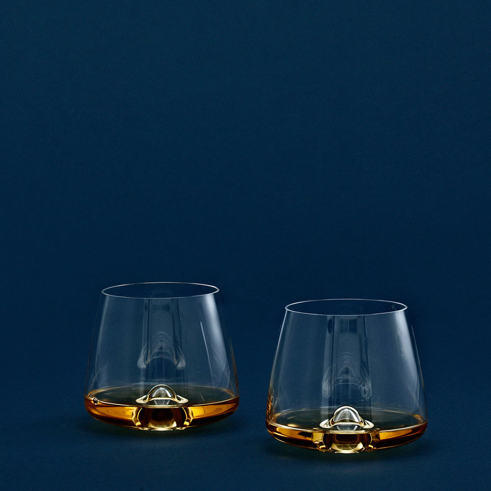Normann Copenhagen Set of Two Whisky Glasses - $46.95