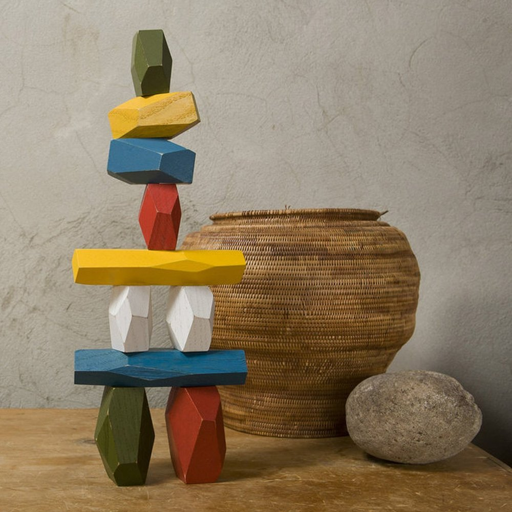 Areaware Balancing Blocks, Multi-Color