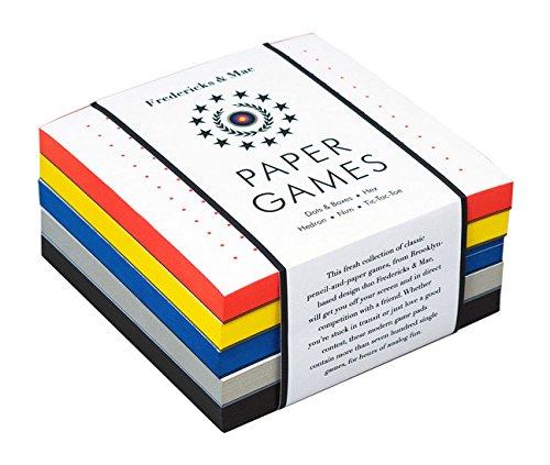 Fredericks & Mae Paper Games - $17.64