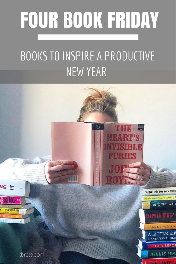 Four Book Friday | Books to Inspire a Productive New Year