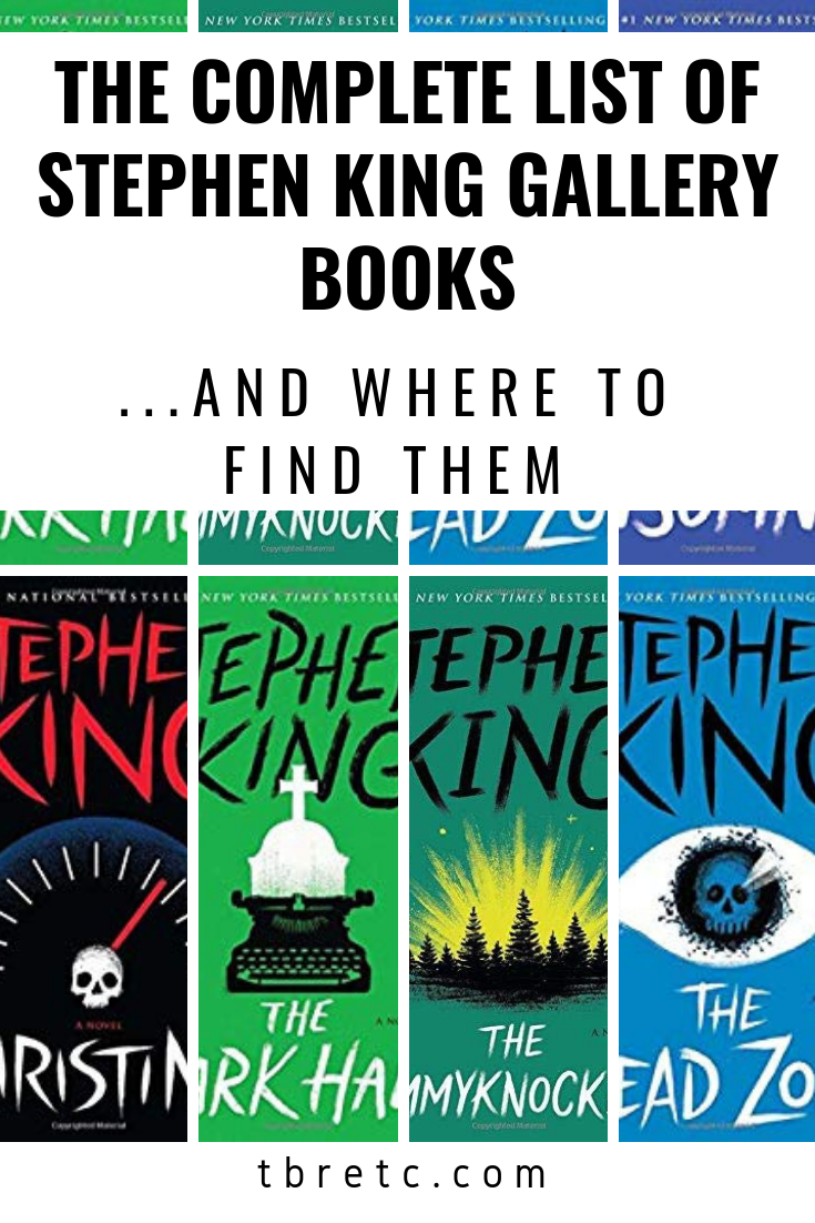 the complete list of stephen king gallery books paperbacks! & where