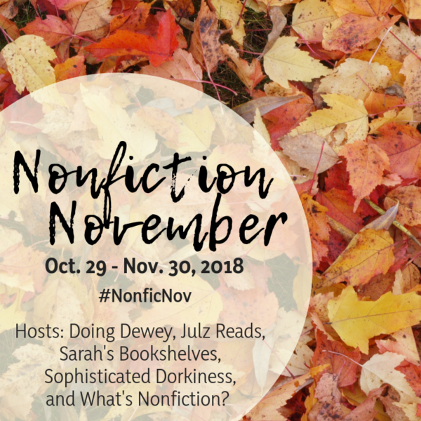 Nonfiction November | Become the Expert