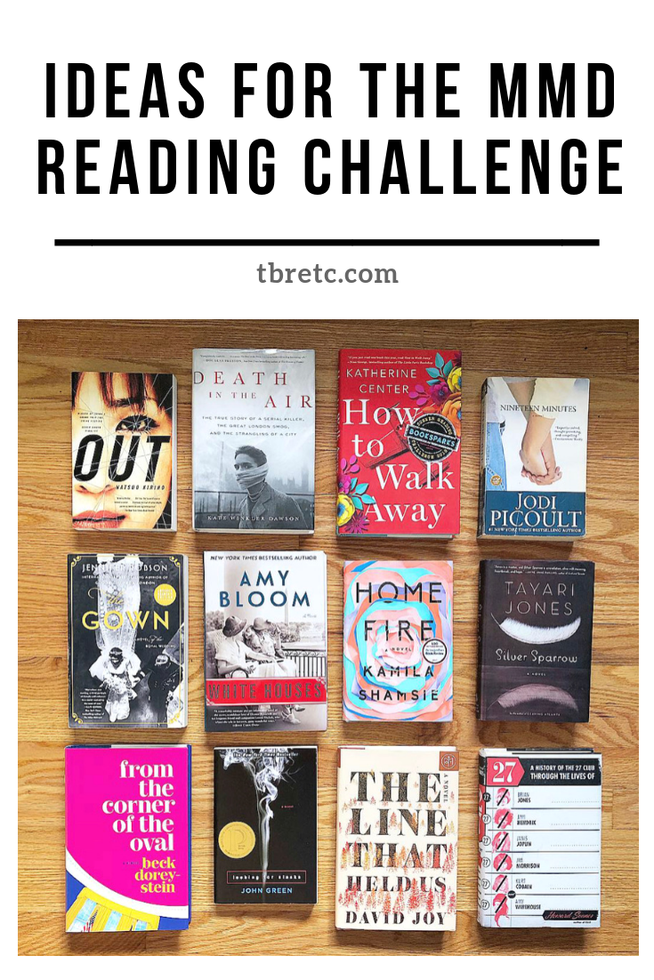 Ideas for the MMD Reading Challenge | TBR Etc.