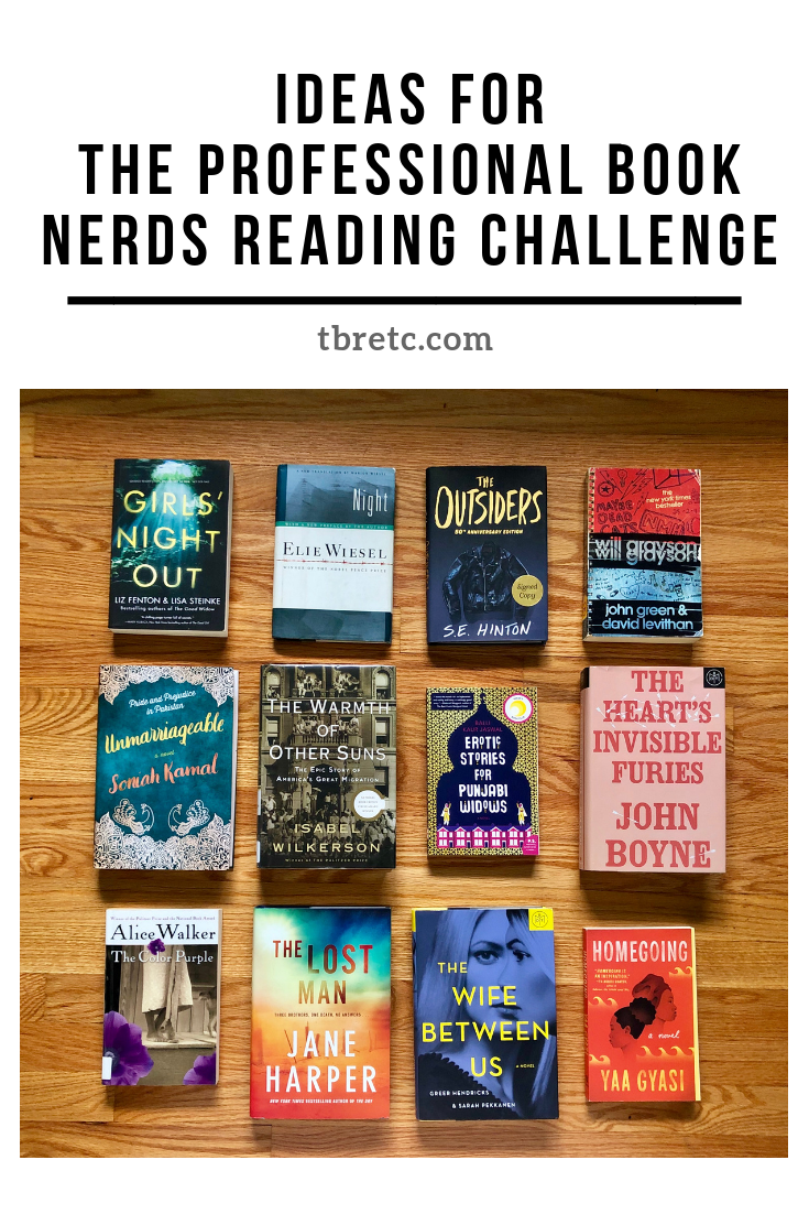 Ideas for the Professional Book Nerds Reading Challenge | TBR Etc