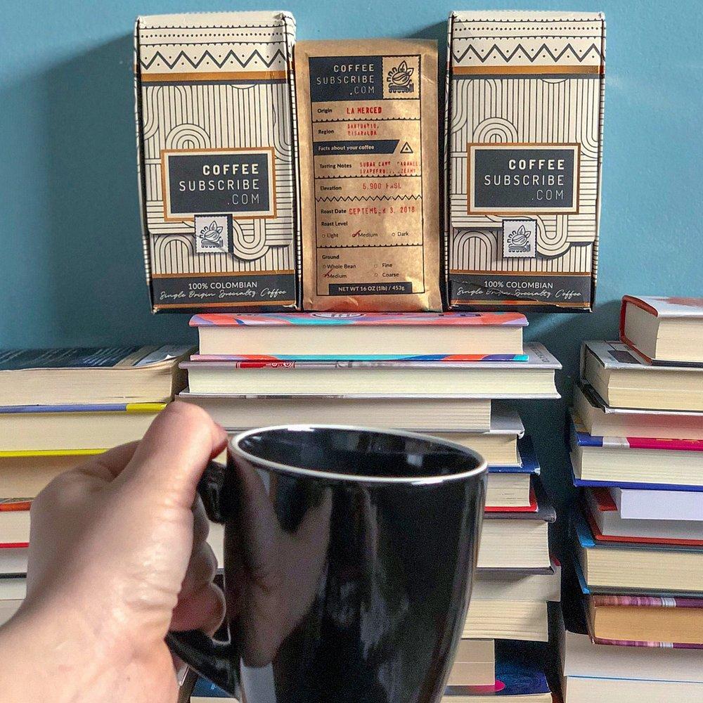 Coffee Subscribe | TBR Etc #coffeesubscription #booksandcoffee