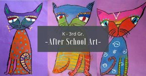 K-3 Afterschool Art Class