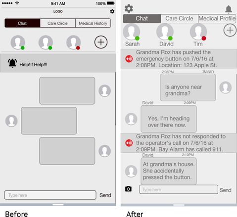 developing a full chat story helps users understand scenario