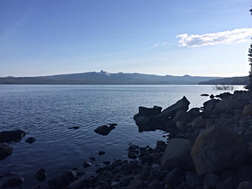 Crescent Lake, Oregon in Spring
