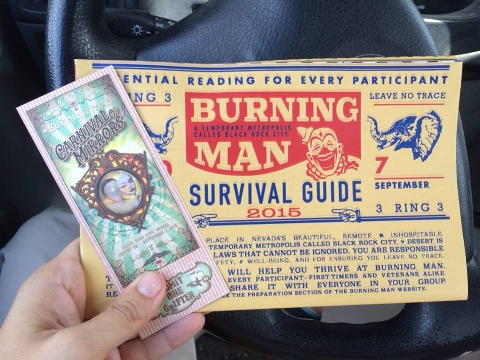 Read your survival guide!! It will prepare you for Black Rock City!