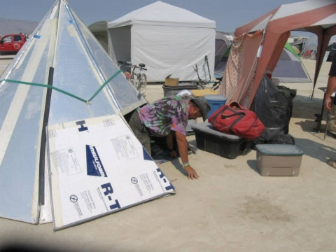Your Burning Man shelter is an essential part of prep!
