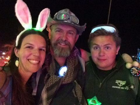 For many families (including us!) Burning man is a multi-generational event.