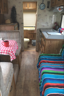 Our camper interior