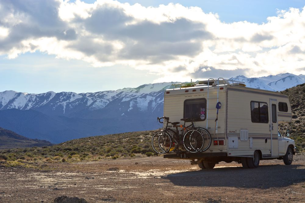 Here we were camped on BLM land for free