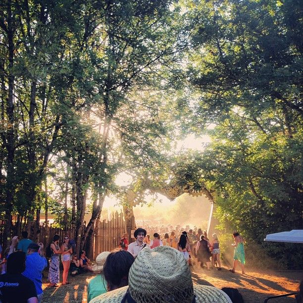 The entrance to OCF