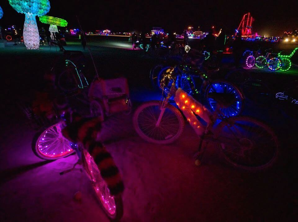 How to Decorate a Bike for Burning Man — The Rolling Pack