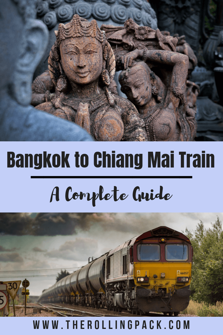 The Bangkok to Chiang Mai train is an awesome way to travel from Bangkok to Chiang Mai. The overnight train, also known as the sleeper train is a unique cultural experience, and here we explain everything you need to know to take the train yourself! #overnighttrain #bangkoktochiangmai #travelthailand #bangkok #chiang mai #thailand