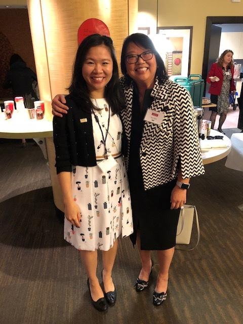 Teresa Wong, Wong, SR. Vice-President of NAAAP DC.