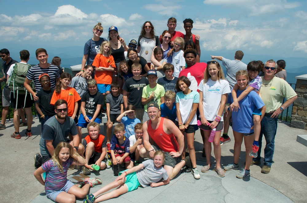 Here we are, atop the highest peak in the East, Mt. Mitchell!