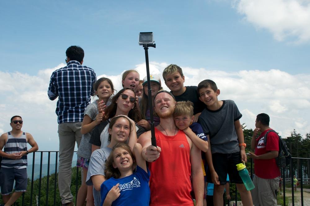 A Mount Mitchell selfie!