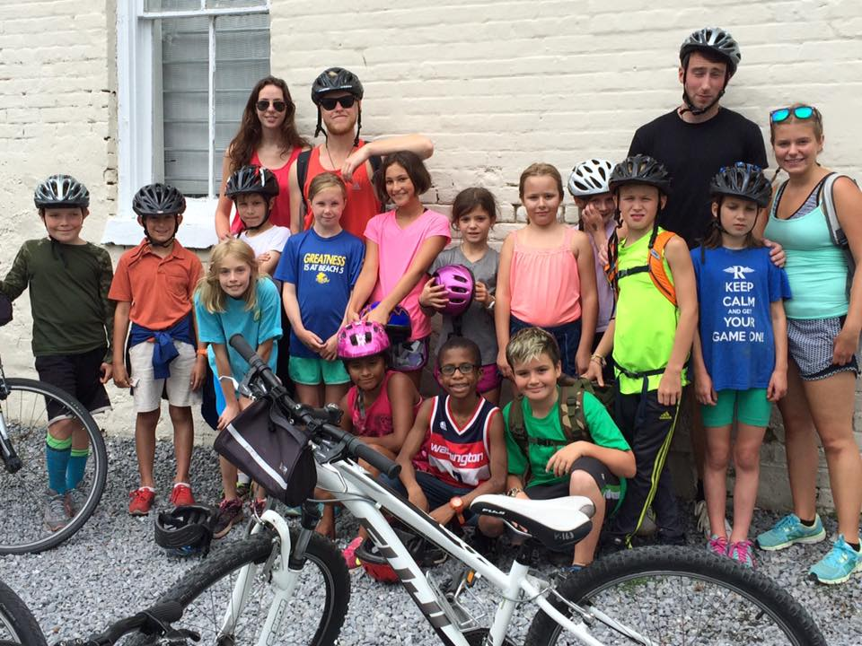 Camp Summer A big adventure on the Virginia Creeper Trail!