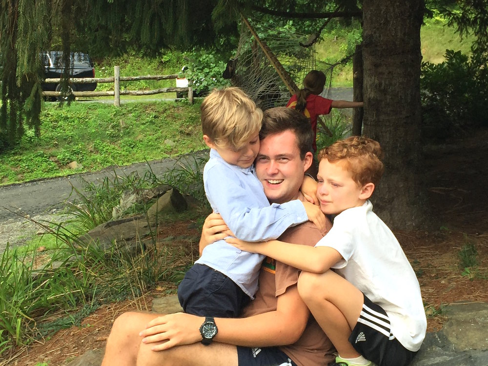 Camp Summer: Ollie had a few fans! Saying goodbye is hard.