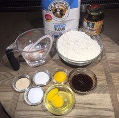 Egg Bagel Mise en Place