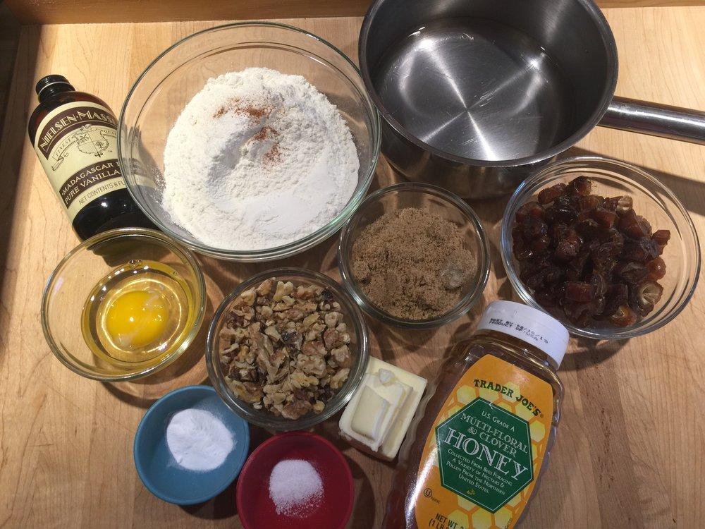 Dut Nut Muffin Mise en Place
