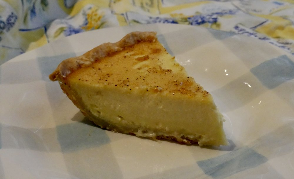 Nutmeg Kissed Custard Pie