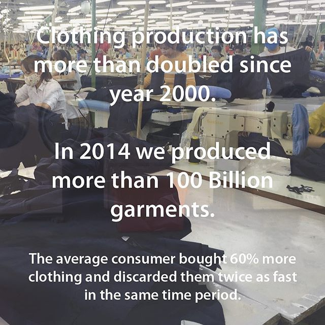 #fashionrevolution needed. . . #sustainability #sustainablefashion #fabric #textiles #waste #threadcycle #threadcyclenyc #wastenotwantnot #concious #consumption #manufacturing #clothing