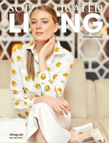 Sophisticated Living - March/April 2015 Cover + Article