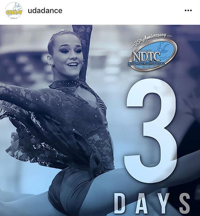 Thank you @udadance for featuring Sophomore Livie today!!! 3 days until one of the best days of the year!!!! #Repost @udadance with @get_repost ・・・ One, two, THREE days until #UDAnationals! Tag three teammates you can't wait to take thefloor with!