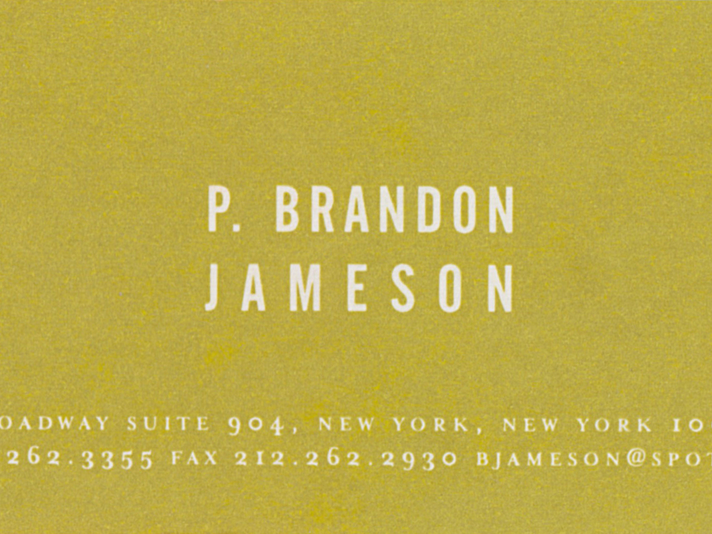 Spot Design Business Card
