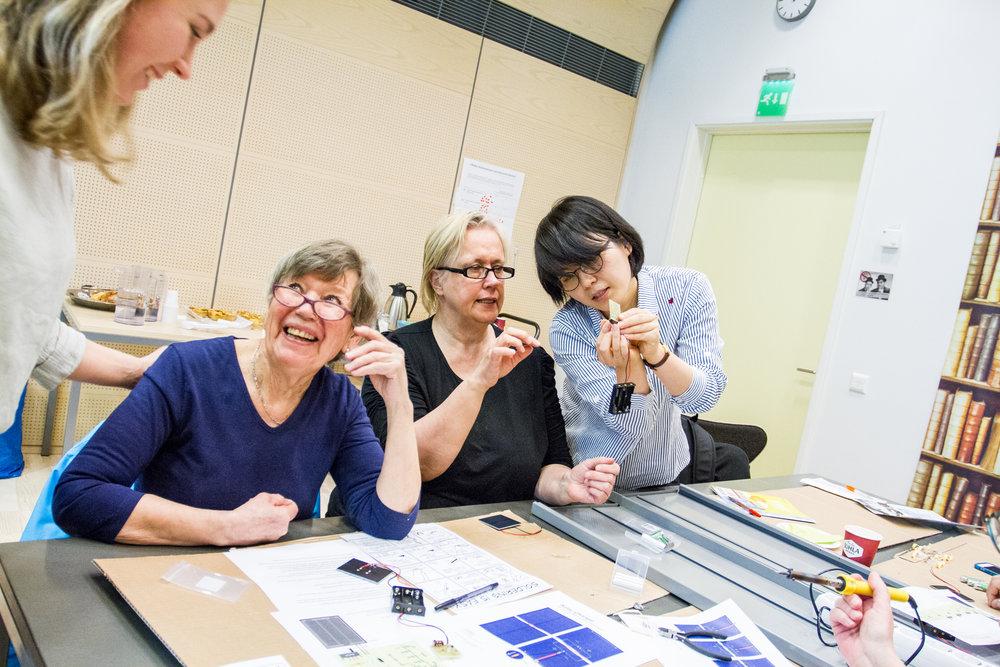 SOLAR DIY Workshop - Our first solar DIY workshop in Lohja, Finland.
