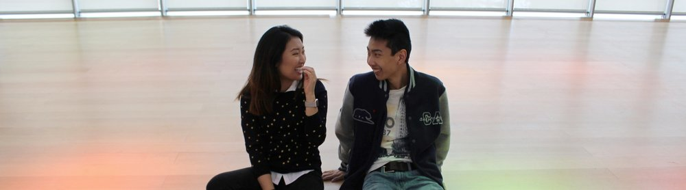 Ellen Kim (QST '20) and Joseph Kao (QST '20), MFA, Boston