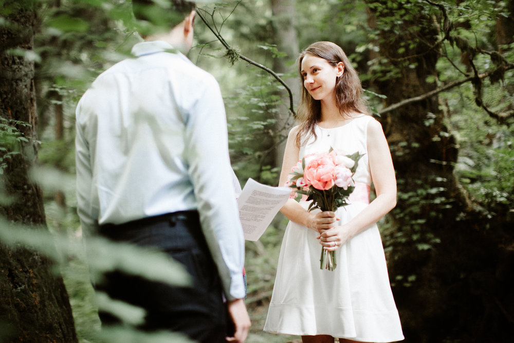 Forest Park, Portland Oregon Elopement