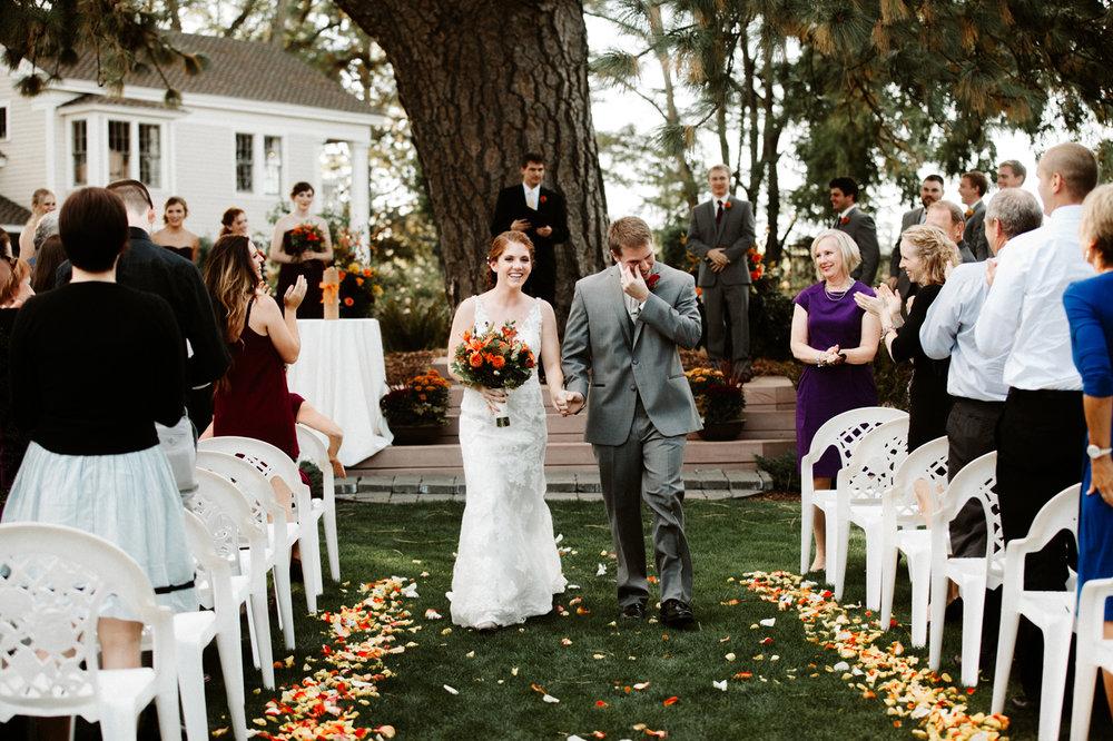 Ainsworth House Oregon City wedding photos