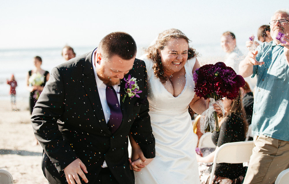 Oregon Coast beach wedding photographer